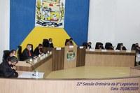 Confira os Projetos aprovados na 22ª Sessão Ordinária