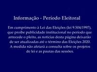 Informação - Período Eleitoral