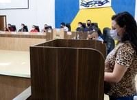 Representante das mães em defesa do aleitamento materno faz uso da tribuna para falar da importância do aleitamento materno