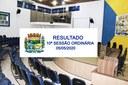 Confira o resultado da 10ª sessão ordinária do Legislativo